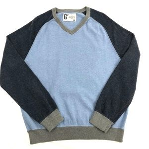 Gap Men's Cashmere Blend Colorblock Sweater